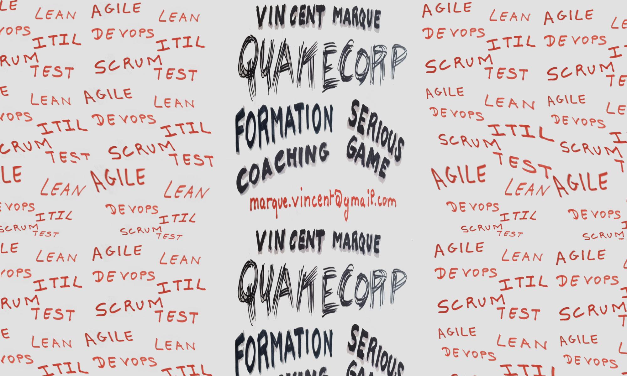 Quakecorp - Vincent Marqué services et formations